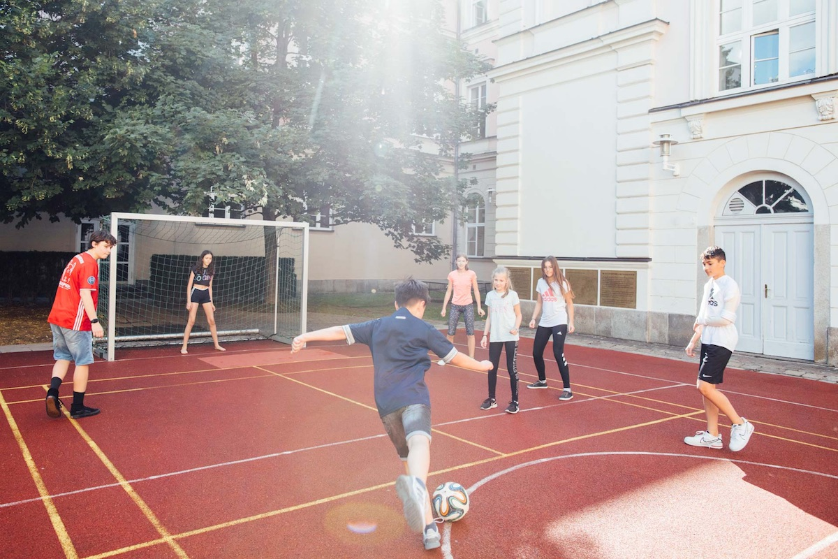 Tagesbetreuung Fussball